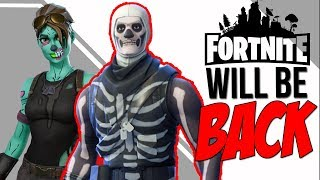 GHOUL & SKULL TROOPER Skins Will be COMING BACK for HALLOWEEN 2018 in FORTNITE BATTLE ROYALE!