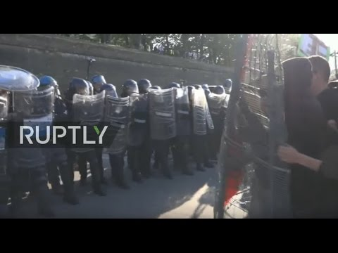 LIVE: Activists protest against G7 summit in Lucca