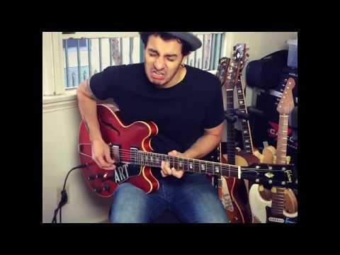 Recording Artur Menezes - Blues Guitarist Extraordinaire