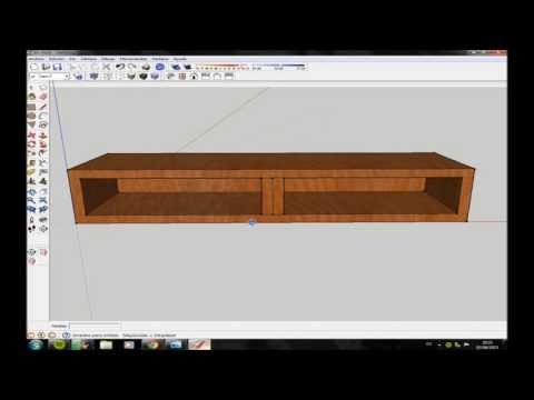 Manual de sketchup aplicado al dibujo de muebles for Modelar muebles