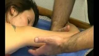 Массаж рук и спины