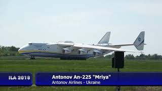 "Airplane GIANT ANTONOV AN-225 ""Mriya"" - Amazing Takeoff & Demo of Maneuverability just wow"