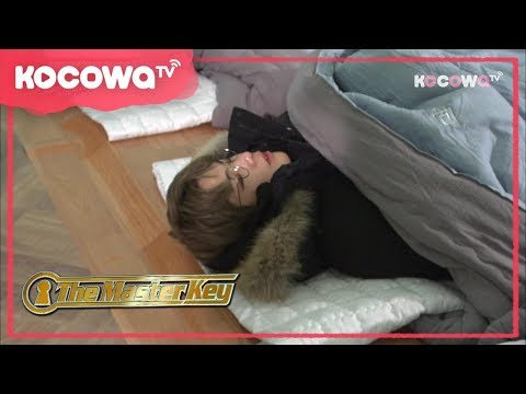 [The Master Key] Ep 9_Kang Daniel fell alseep during the game