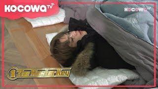 [the Master Key] Ep 9 kang Daniel Fell Alseep During The Game