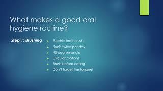 Caring Tree Children's Dentistry - Oral Hygiene