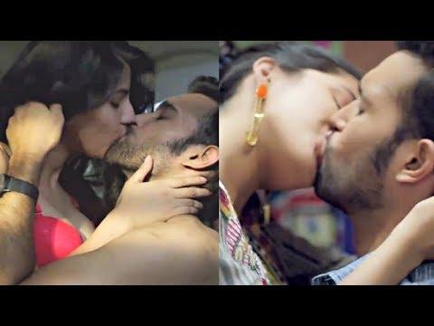 Dev DD Kiss Scene Compilation - Aasheema Vardhan