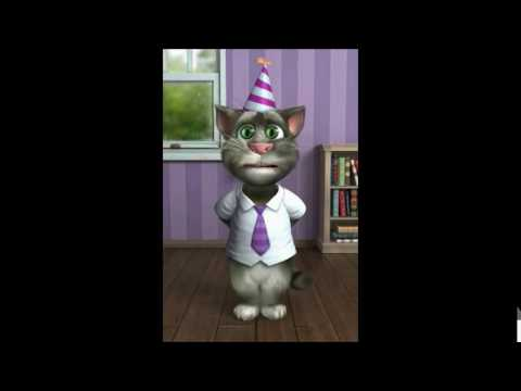 TALKING TOM CAT SINGS HAPPY BIRTHDAY TO AIDEN