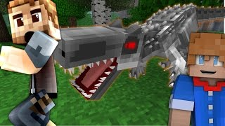 Minecraft Dinosaurs #15 - HE WANTS MORE DANGER? (Jurassic World Minecraft Roleplay)