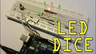 Arduino Project - Dice using LED'S