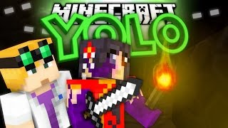 YOLO Minecraft #9 - HORROR IN THE MINES