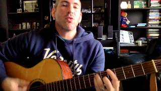 """ERIC HIMAN Cover Card exclusive """"Locked Out"""" (Crowded House Cover) for Adam M. Andrew!"""