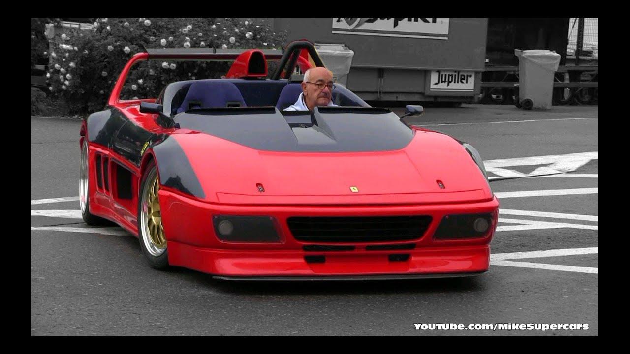 Ferrari 348 Barchetta Competizione VERY LOUD SOUND - YouTube