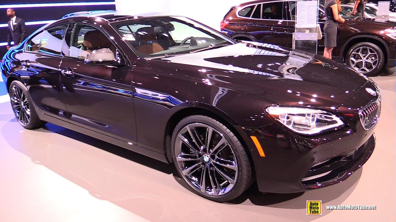 2017 Bmw 650i Xdrive Gran Coupe Exterior And Interior Walkaround