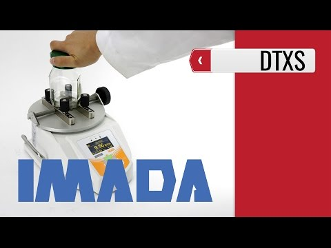Imada DTXS - Bottle Cap Torque Testers (product video presentation)