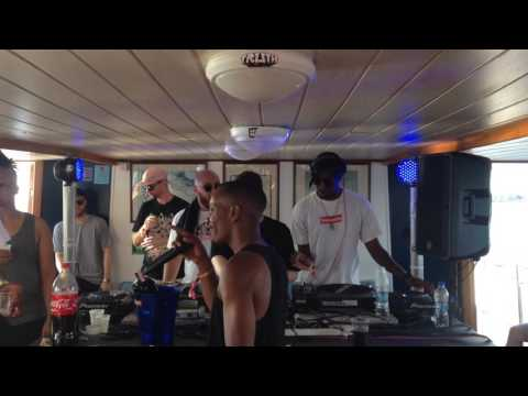 Kahn drops Kahn & Neek - Damascus at Bandulu boat party