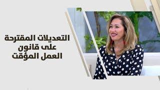 نور الامام - التعديلات المقترحة على قانون العمل المؤقت
