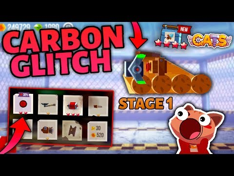 GETTING CARBON PARTS IN STAGE 1  C.A.T.S GLITCH  Crash Arena Turbo Stars
