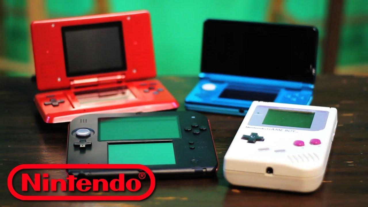 2013 Nintendo Handheld Guide 2ds 3ds Ds Gameboy Showdown Raymond Strazdas Youtube