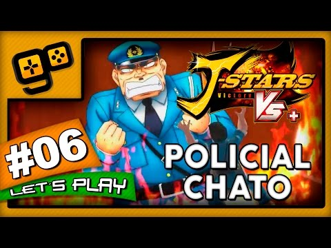 Let's Play: J-Stars Victory VS+ (LUFFY) - Parte 6 - Policial Chato
