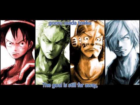 One Piece Opening 18 Japanese/English Lyrics Full Version