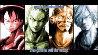 Gambar cover One Piece Opening 18 Japanese/English Lyrics Full Version