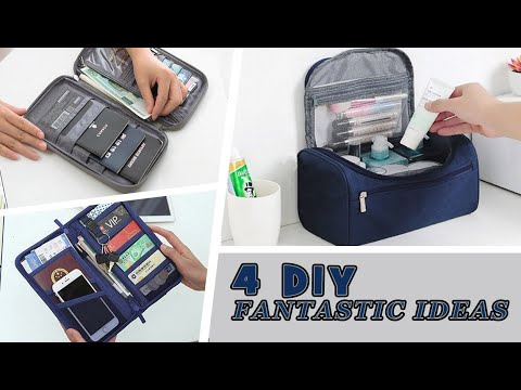 4 IDEAS DIY PURSE BAG  YOU CAN EASY MAKE OUT OF OLD JEANS //  Cute DIY Bag Tutorials Ever