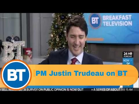 Prime Minister Justin Trudeau on 2018, answers your questions