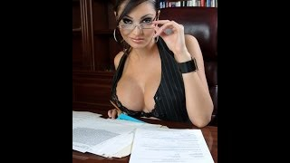 Секси секретарша - скрытая камера 2014