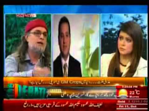 The Debate with Zaid Hamid -  Monopoly of Genetically Modified Crops - 11-10-13