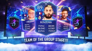INSANE TEAM OF THE GROUP STAGE PROMO! - FIFA 20 Ultimate Team