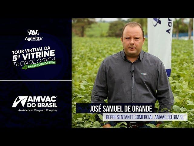 José Samuel de Grande   Representante Comercial AMVAC do Brasil