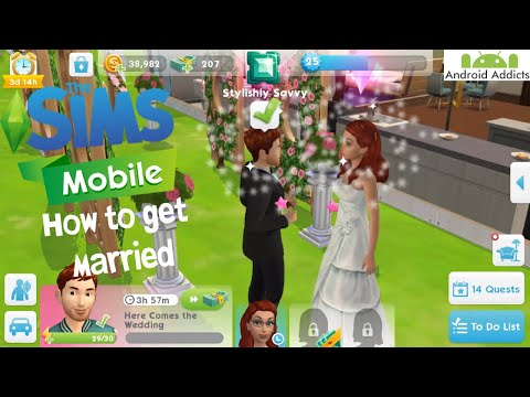 The Sims Mobile - How To Get Married 💍 Android/iOS