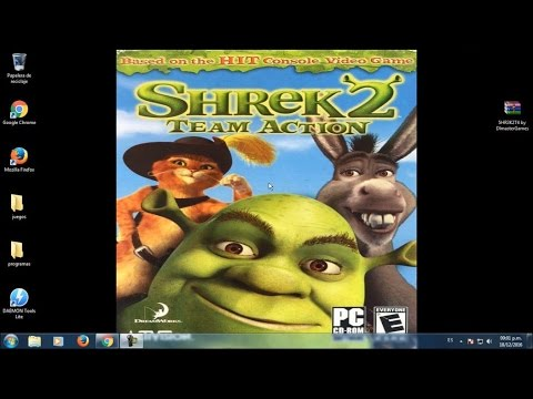 Descargar E Instalar Shrek 2 Team Action Full Iso Para Pc Youtube