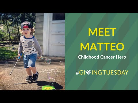 Meet Matteo: Childhood Cancer Hero