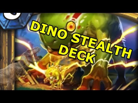 Hearthstone Fun Decks: Dino Stealth Deck