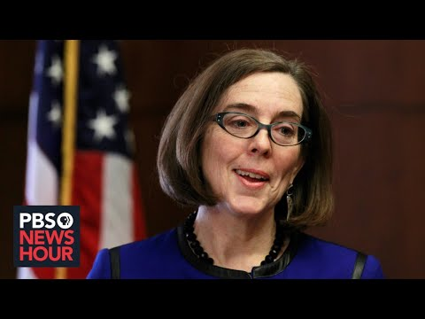 WATCH LIVE: Oregon Gov. Kate Brown Holds News Conference On Portland Protests, Ongoing Pandemic