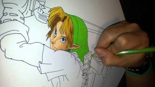 Disegno - Drawing Adult Link The Legend Of Zelda