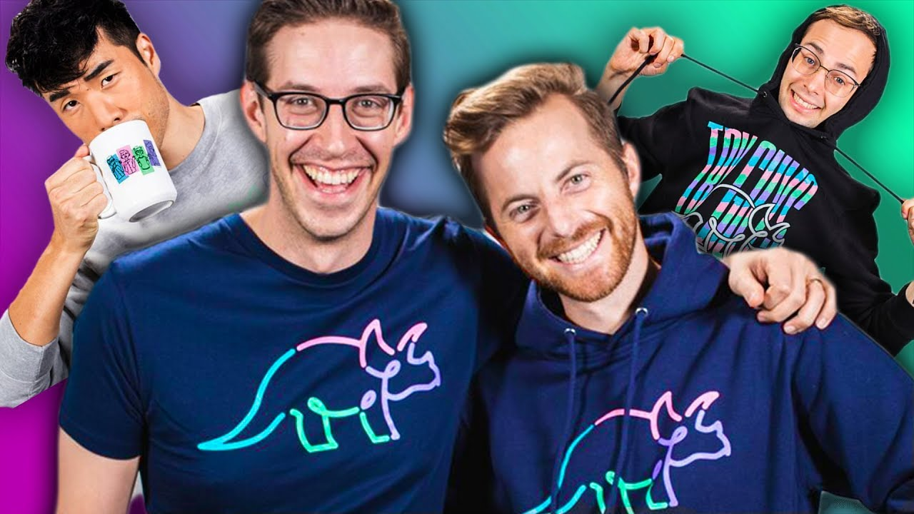 the-try-guys-reveal-new-merch-fashion-show
