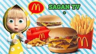 Masha and the bear English Mcdonalds Detske Animovane Rozpravky pre Deti ■ Sagan Tv ■