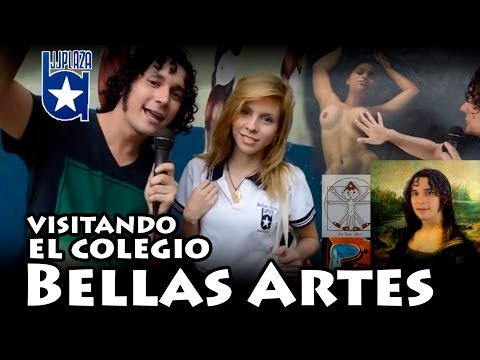 Visitando el Colegio Bellas Artes