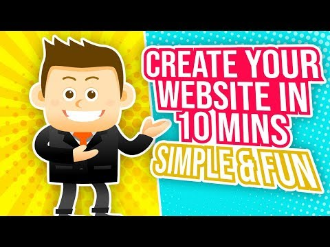 How To Make A Website From Scratch In 10 minutes with WordPress 2019