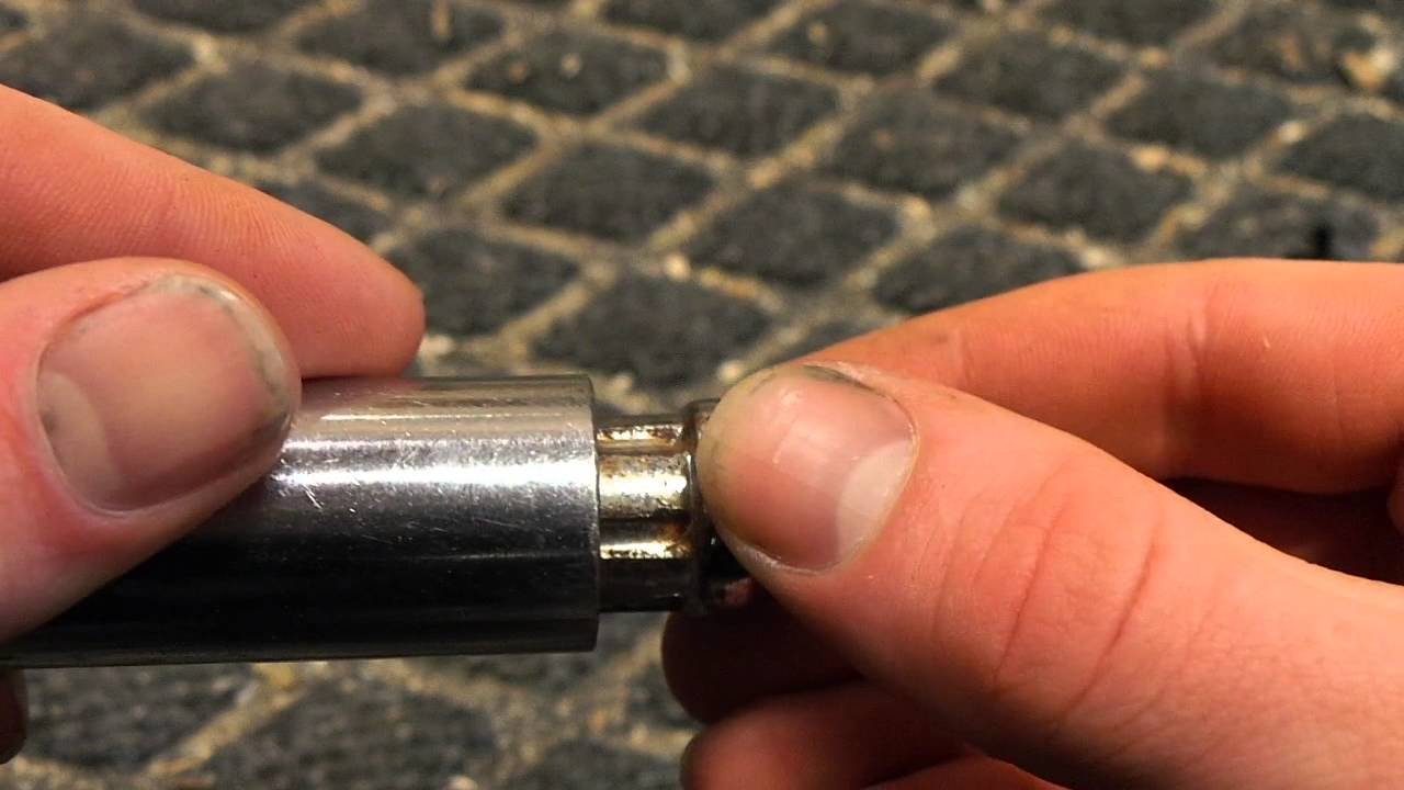 Remove Spline Lug Nuts Without A Key Youtube