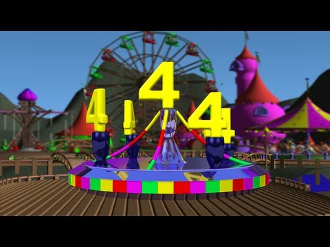 123 little Numbers Carousel # 1 | Baby Magic 123 |  Learn English Numbers for Kids