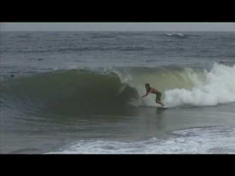 Vilano Beach Barrels 10/15/09