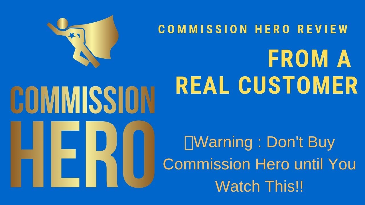 Affiliate Marketing Commission Hero For Sale Ebay