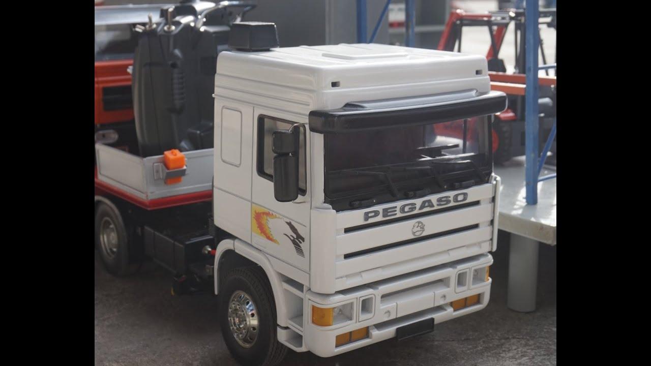 camion pegaso troner rc a escala 1 14 youtube. Black Bedroom Furniture Sets. Home Design Ideas