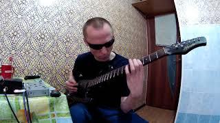 Незрячий играет соло на гитаре Кипелов
