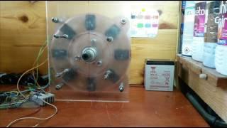 Moteur a impulsion?pulse motor(moteur)?test 3 volt...