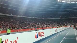 Atmosfera meczu Polska - Portugalia