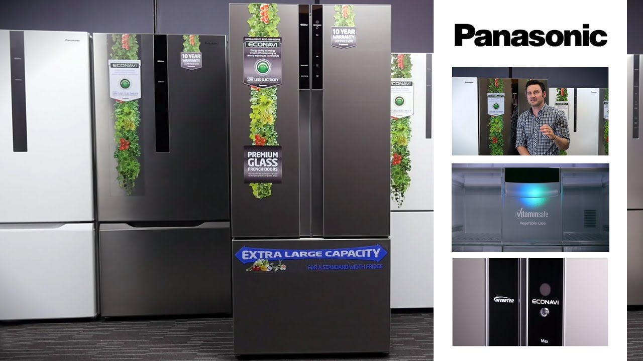 Good Panasonic French Door Fridge Part - 5: Panasonic Fridge Range U2013 Live Fresh - YouTube